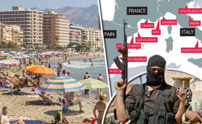 L'Etat islamique prévoie des attaques terroristes sur les plages européennes