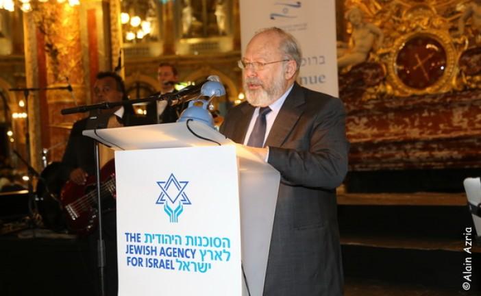 Les leaders des communautés juives du monde à la table du Keren Hayessod