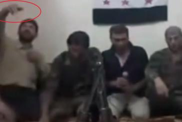 Vidéo « explosive » : Des rebelles syriens prennent un selfie et déclenchent une explosion