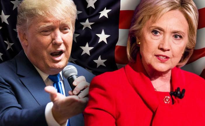 En direct : Trump en tête à l'élection présidentielle