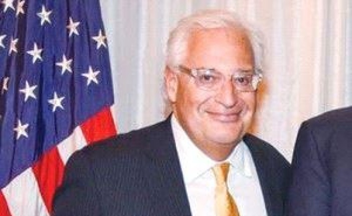 Donald Trump nomme comme ambassadeur en Israël  David Friedman…
