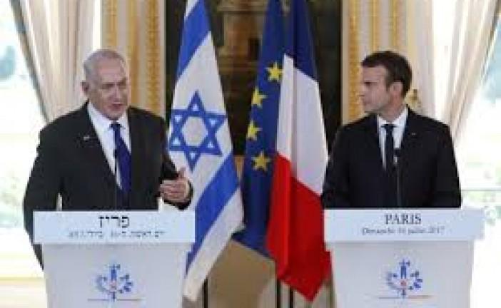 Macron bientôt en Israël