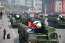En Corée du Nord, une ville aurait été frappée par des débris d'un missile