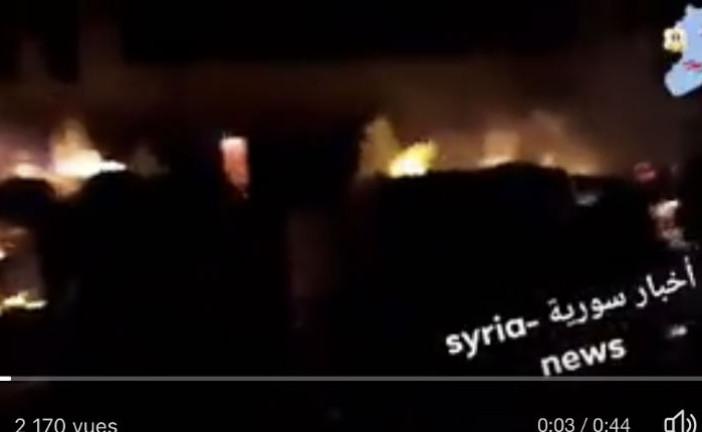 Syrie : Hier soir, frappe nocturne Attribuée en Israel