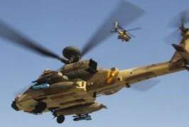Les Hélicoptères d'assauts de Hel Avir attaquent un bâtiment au Liban
